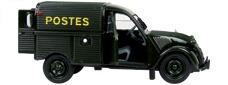 Reduced models and metal heavy goods vehicles