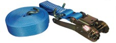 Stowing belts and towing slings