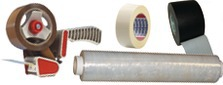 Sealing adhesives and stretch films