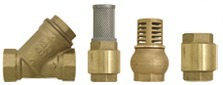 Strainer valves, flaps and filters