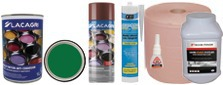Paints, adhesives, sealing, cleaning
